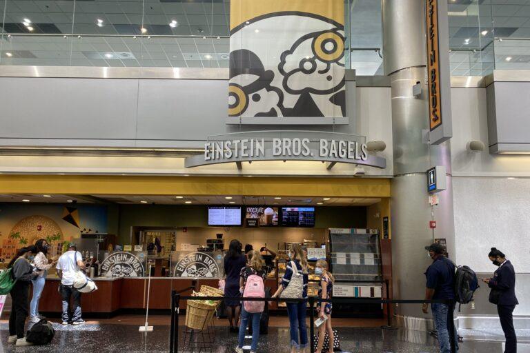 Einstein Bros Bagels Airport