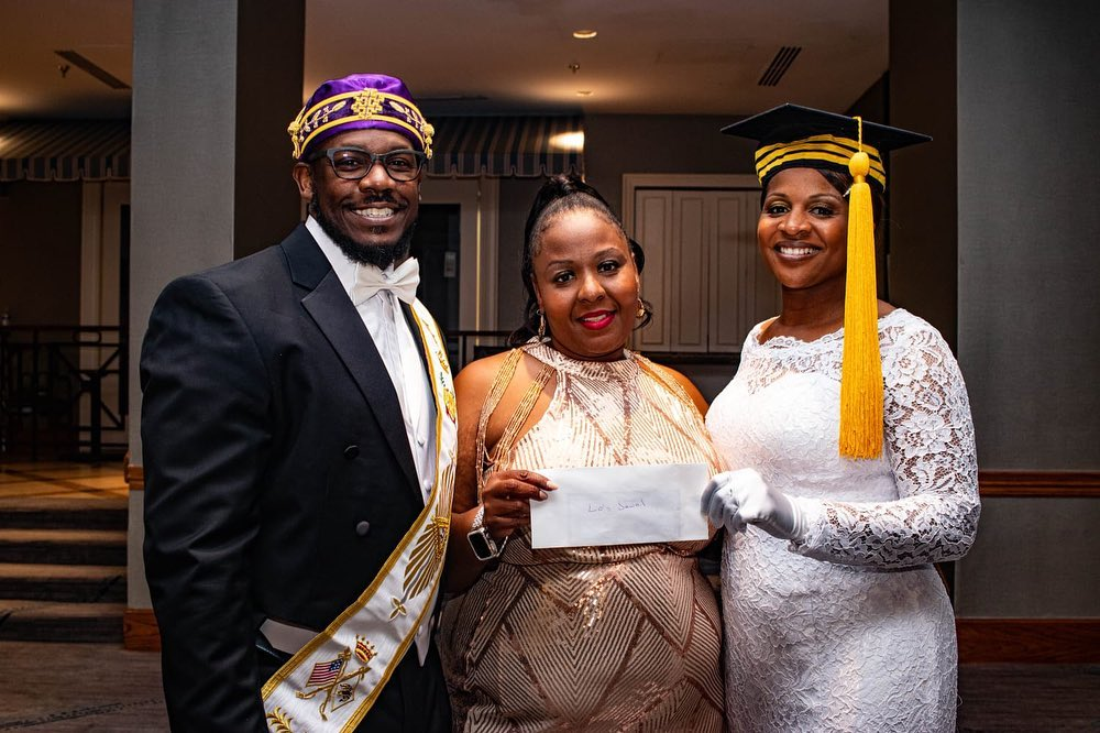 """Most Worshipful Joshua Grand Lodge A.F & amp. A.M. Queen Esther Grand Chapter O.E.S OF TEXAS Considering Lo's Jewels Foundation Inc. for the Exceptional """"Scottish Rite Donation of the Year"""