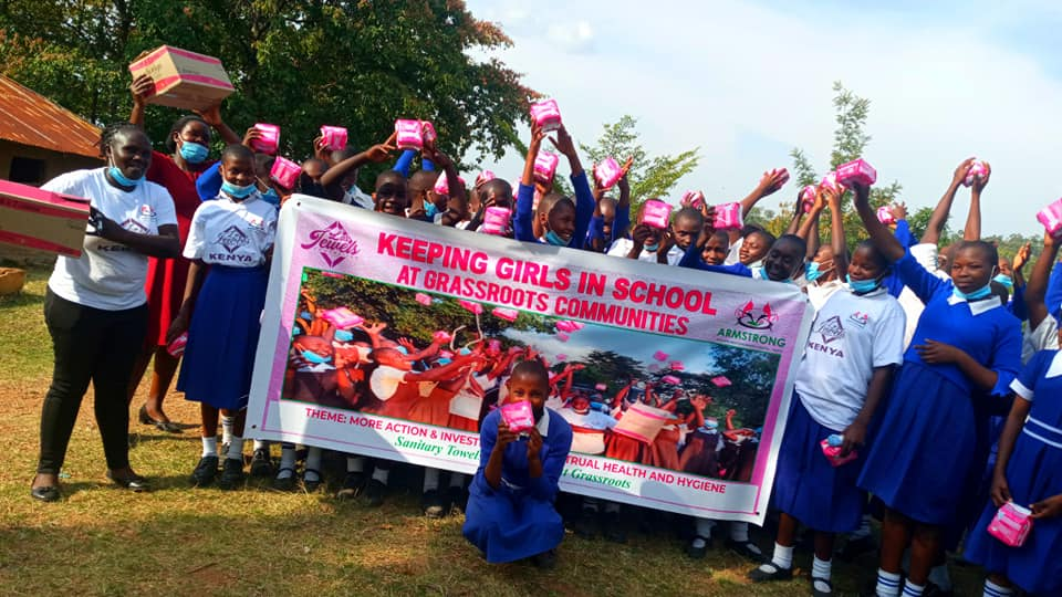 Lo's Jewels Foundation Inc. restoring dignity, and menstrual hygiene campaign at the grassroots communities