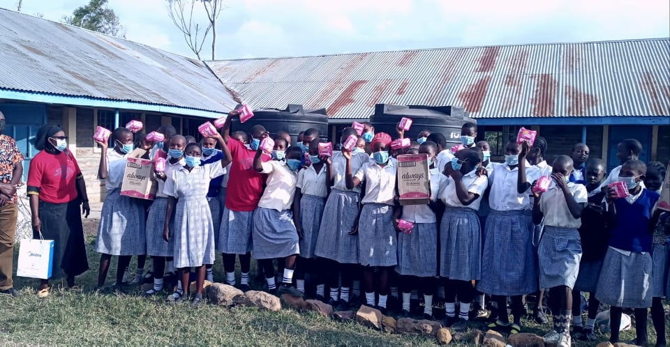 Lo's Jewels Foundation Inc. Ministry can not wait to continue Doing it again for our girls in Kenya grassroots.