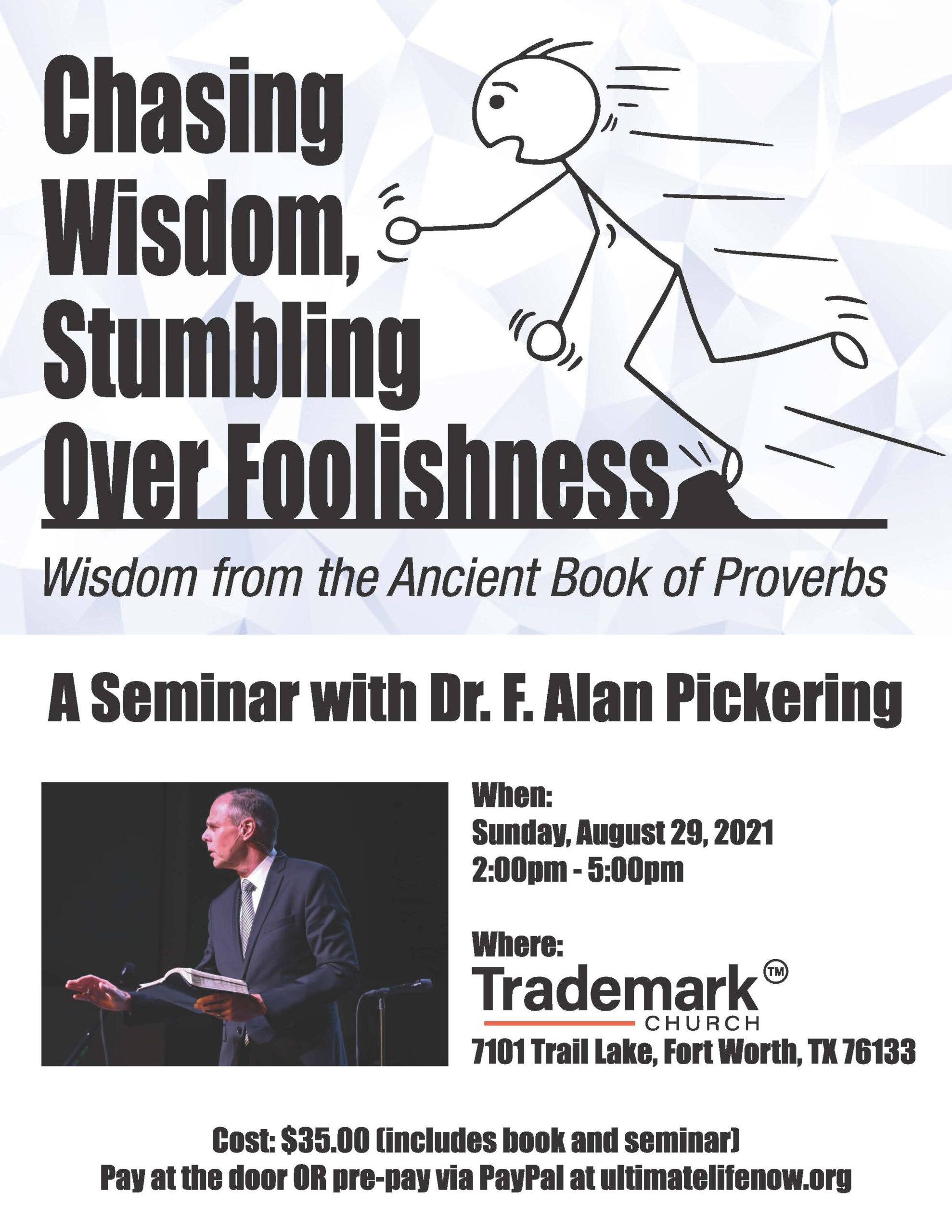 Chasing Wisdom Stumbling Over Foolishness copy