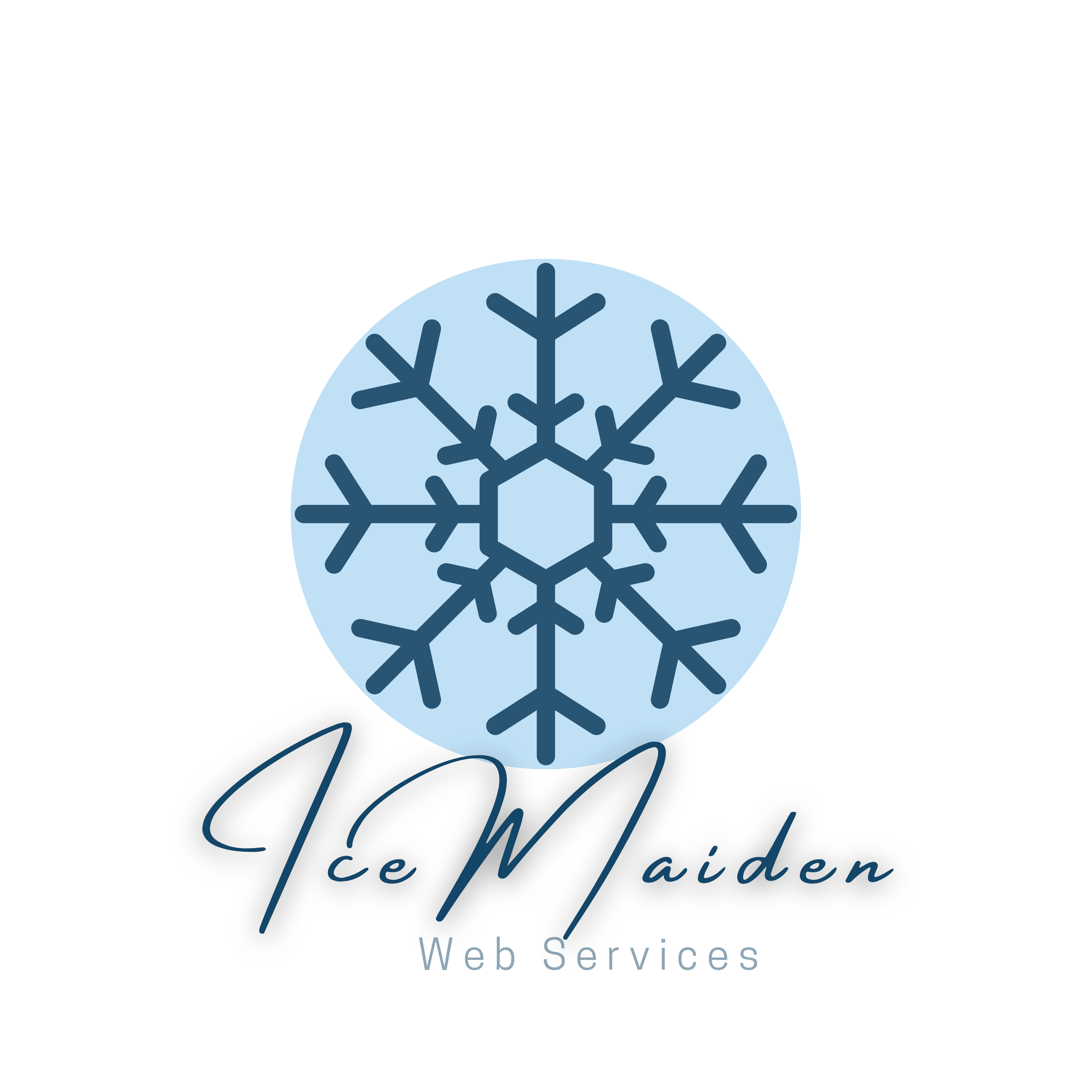 IceMaiden Web Services Logo New Lg Trans