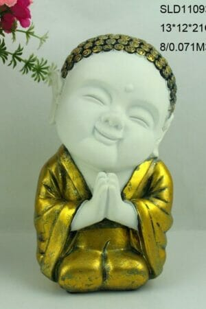 HAPPY MONK STATUE