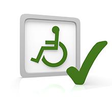 services icon - wheelchair