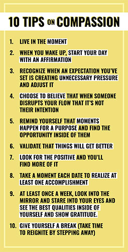 10 Tips on Compassion list