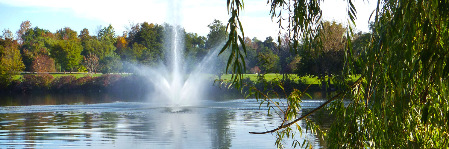 The Terrace at Delaware Park, Views of Hoyt Lake, Best view in Buffalo, Dine on the Patio