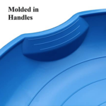 Flexible-Flyer-3-pack-Snow-Saucer-Sleds handle view