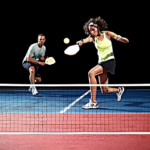 Franklin-Sports-Half-Court-Size-Pickleball two adults playing