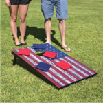 GoSports-Classic-Cornhole American Flag set