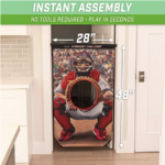 GoSports-Football-Baseball-Toss-Game with measurements