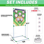 GoSports-Football-Baseball-Toss-Game with included items