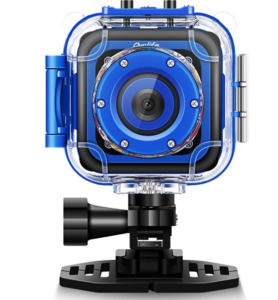 Ourlife-Kids-Waterproof-Camera-with-Video-Recorder blue
