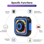 Ourlife-Kids-Waterproof-Camera-with-Video-Recorder specific functions