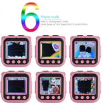 Ourlife-Kids-Waterproof-Camera-with-Video-Recorder 6 frame mode