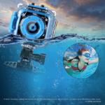Ourlife-Kids-Waterproof-Camera-with-Video-Recorder underwater view