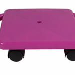 Plastic-Floor-Scooter-Board-With-Rollers purple