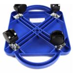 Plastic-Floor-Scooter-Board-With-Rollers underside blue