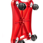Plastic-Floor-Scooter-Board-With-Rollers under side