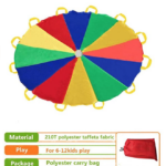Sonyabecca Parachute with material, play, and package detail