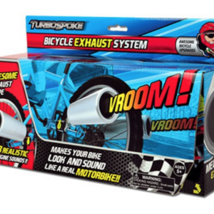 URBOSPOKE EXHAUST SYSTEM FRONT OF BOX