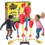 The-Original-Stomp-Rocket-Dueling-Rockets kids playing and box in background