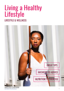 living a healthy lifestyle ebook cover