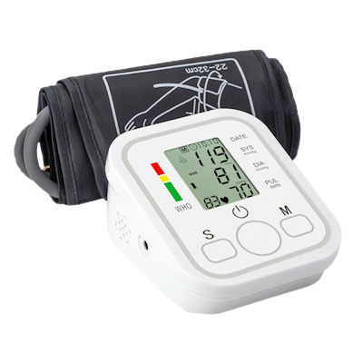 Angelica Wellness Shop Automatic Upper Arm Home Blood Pressure Monitor right side view