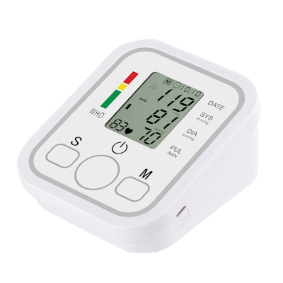 Angelica Wellness Shop Automatic Upper Arm Home Blood Pressure Monitor front view