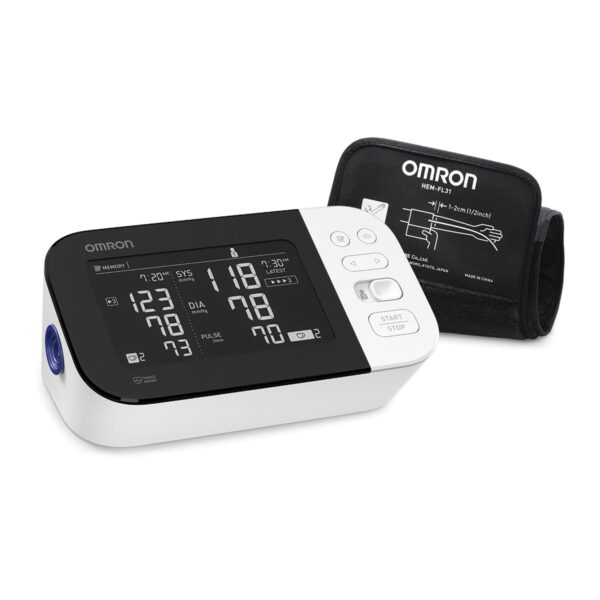 omron bp 7450 side view