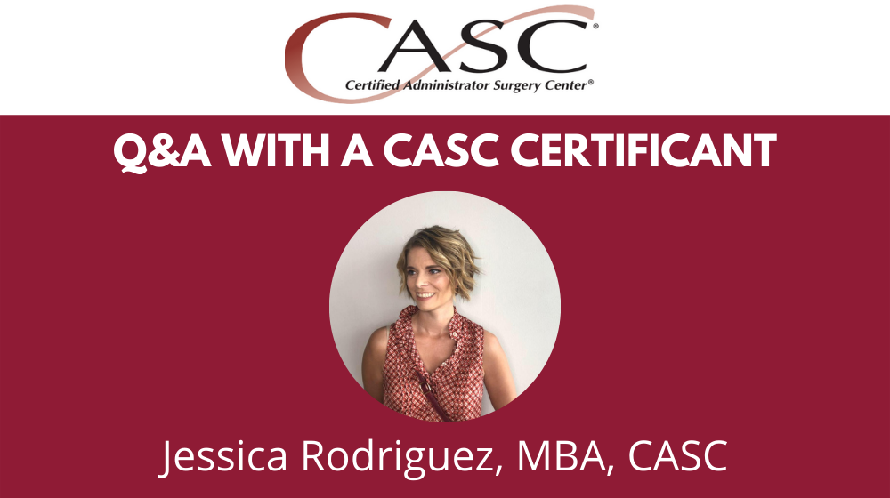Read more about the article Q&A with a CASC®  Certificant: Jessica Rodriguez, MBA, CASC of Orthopaedic Associates of Michigan