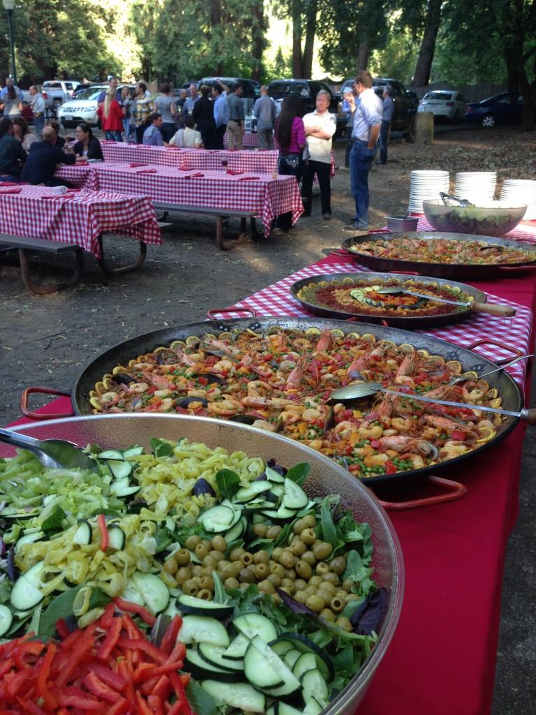 A trio of paella for E&J Gallo Innovation Day