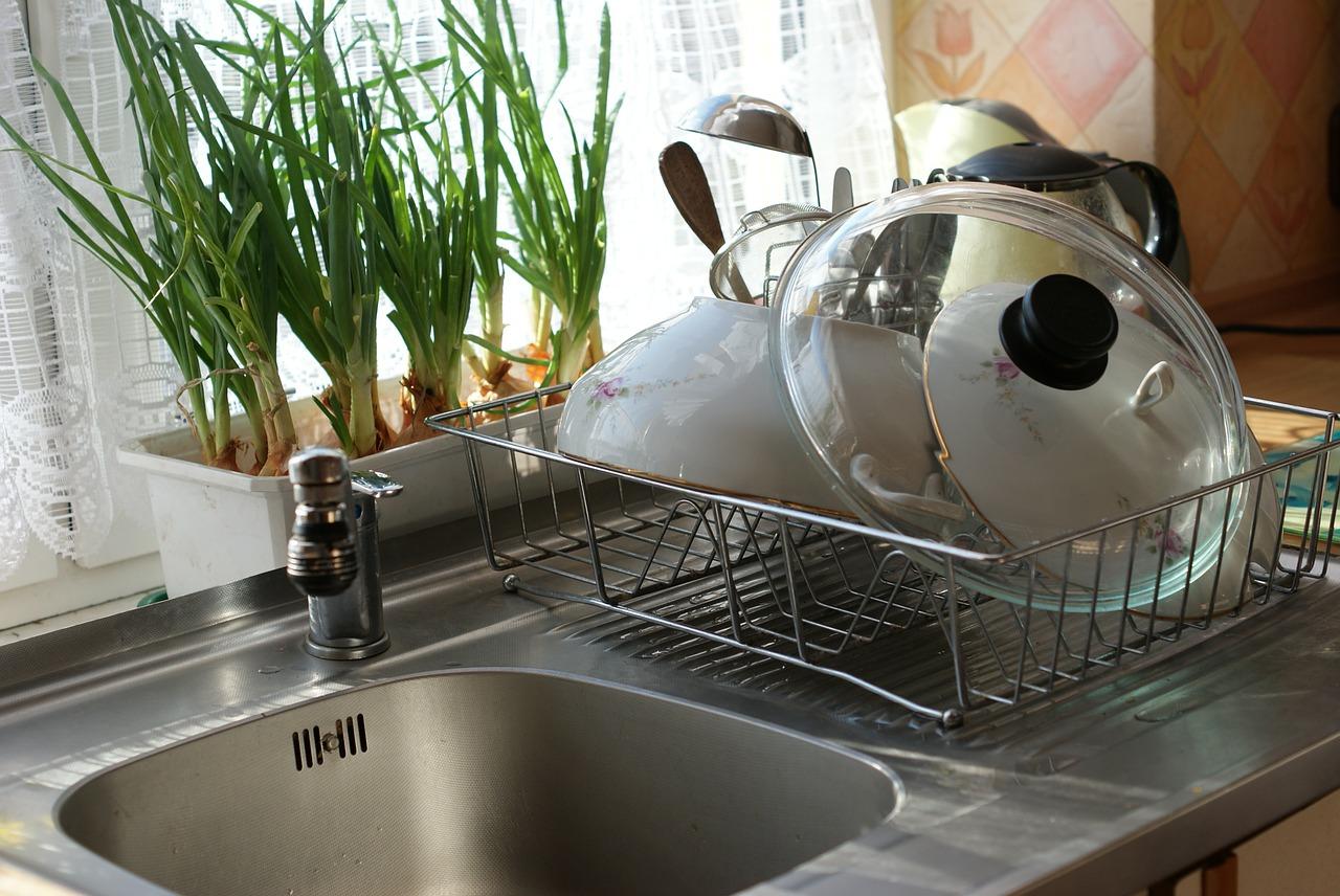 kitchen, sink, faucet