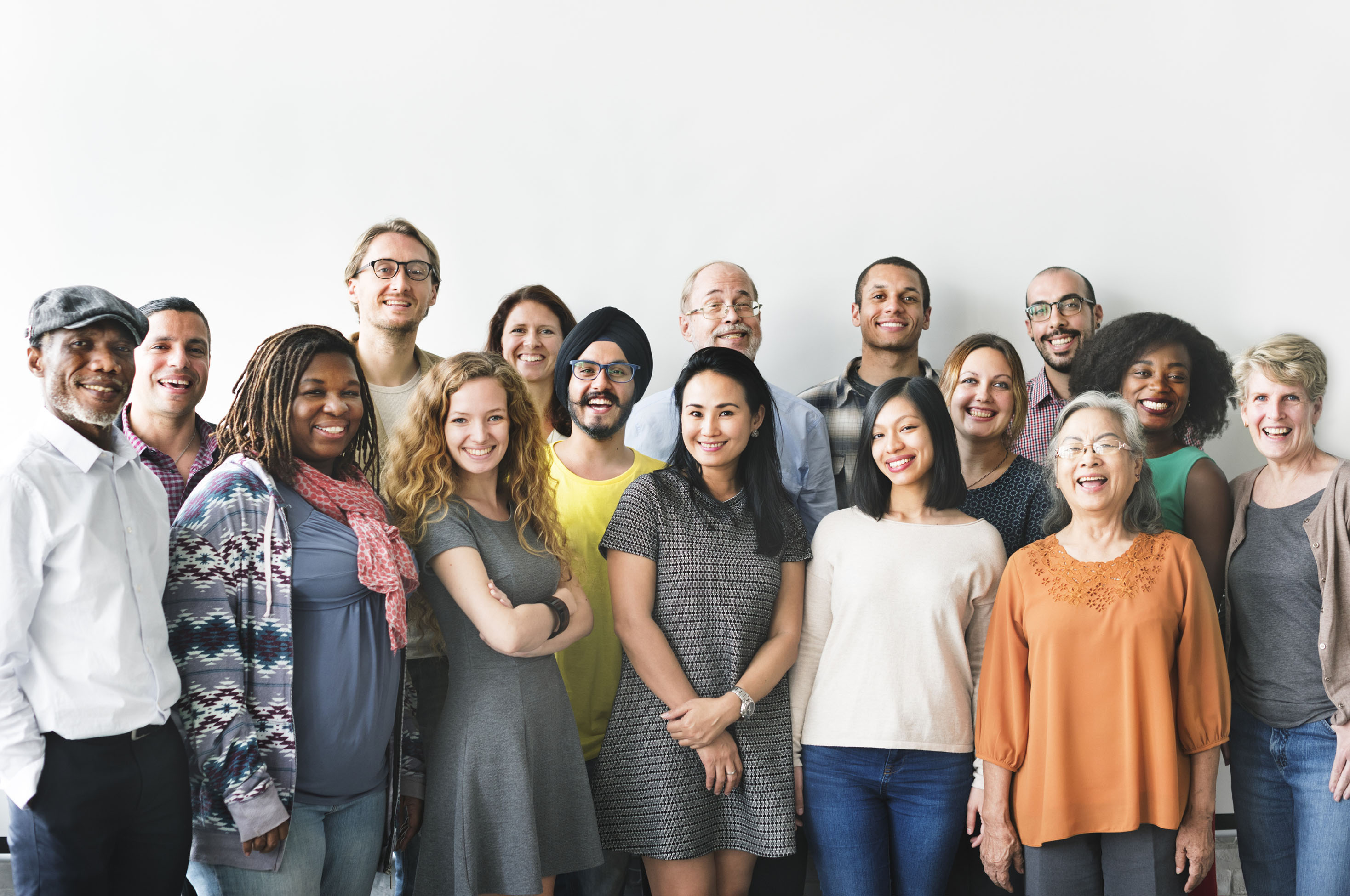 Diversity People Group Team Union Concept