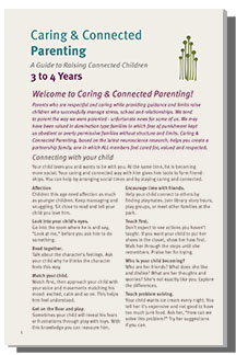 Caring & Connected Parenting Module age 3 to 4