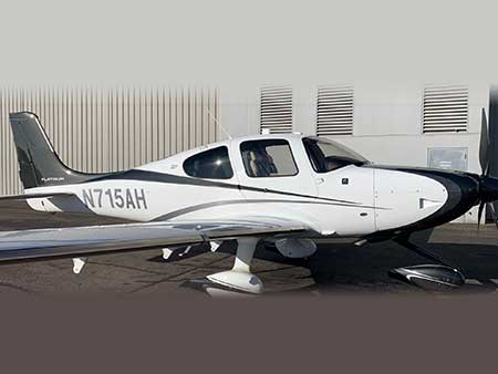 2015 CIRRUS SR22T WITH PERSPECTIVE N715AH