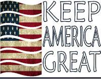 Keep America Great flag logo
