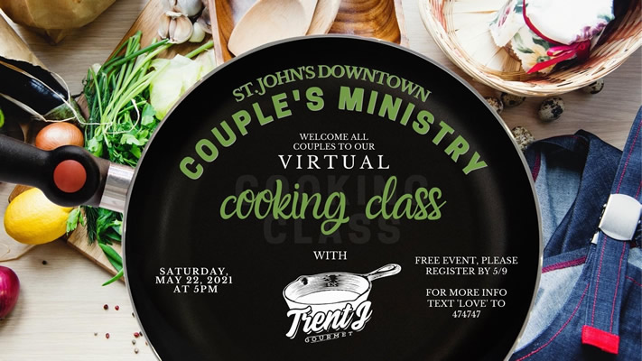 Couples Ministry Online Cooking