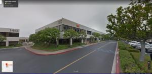 Front of office building in Newport beach, CA