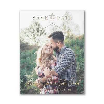 wedding invitation and save the date printing
