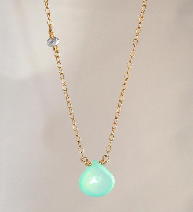 Mermaid Tear Necklace