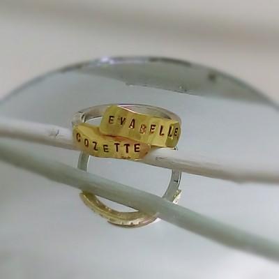 Custom Name Ring