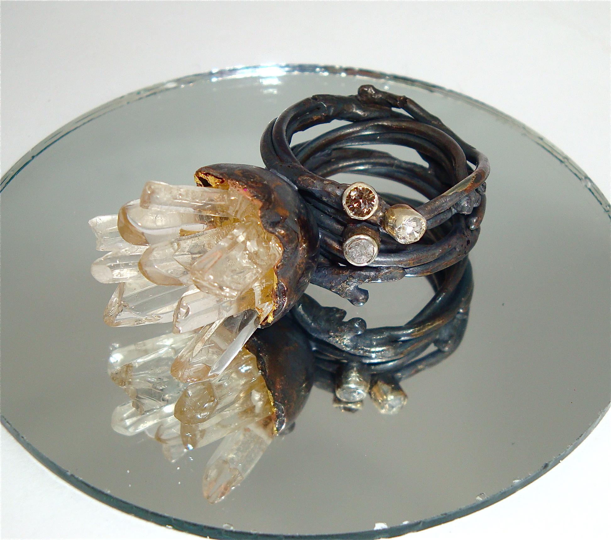 Crystal Shard Ring