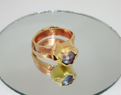 Blossoming Pearl Ring