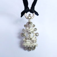 Sterling Buddha Necklace