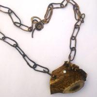 Antler Beam Necklace