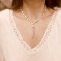 Diamond Antler Necklace