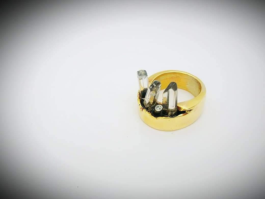 Quartz Shard Ring