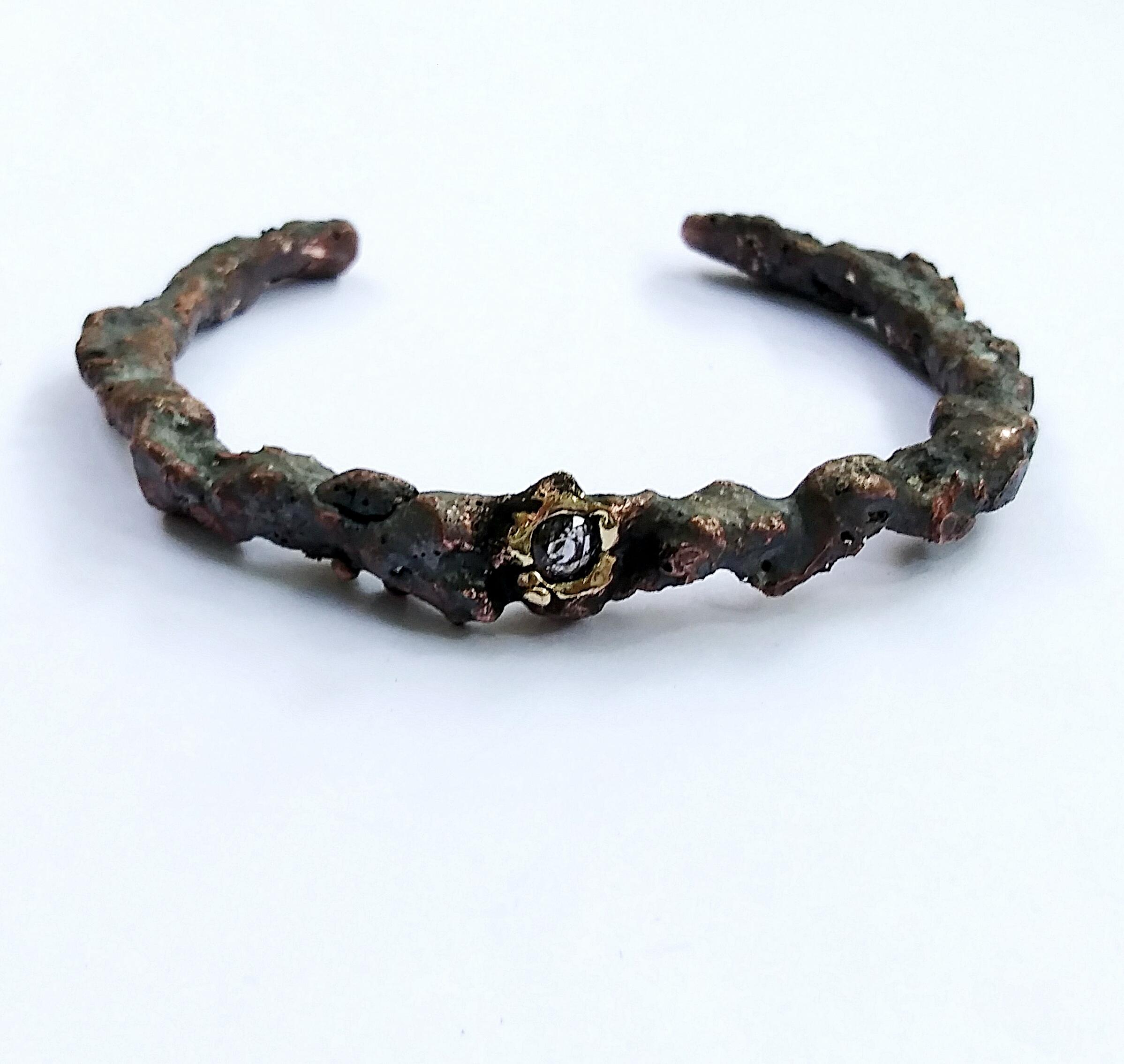 Wrought Iron Cuff Bracelet