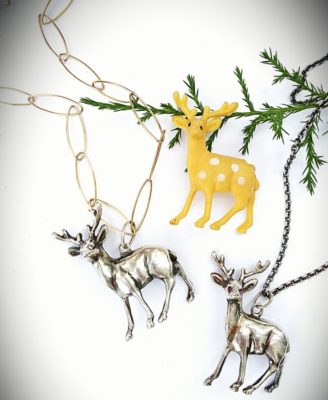 Reindeer Pendant