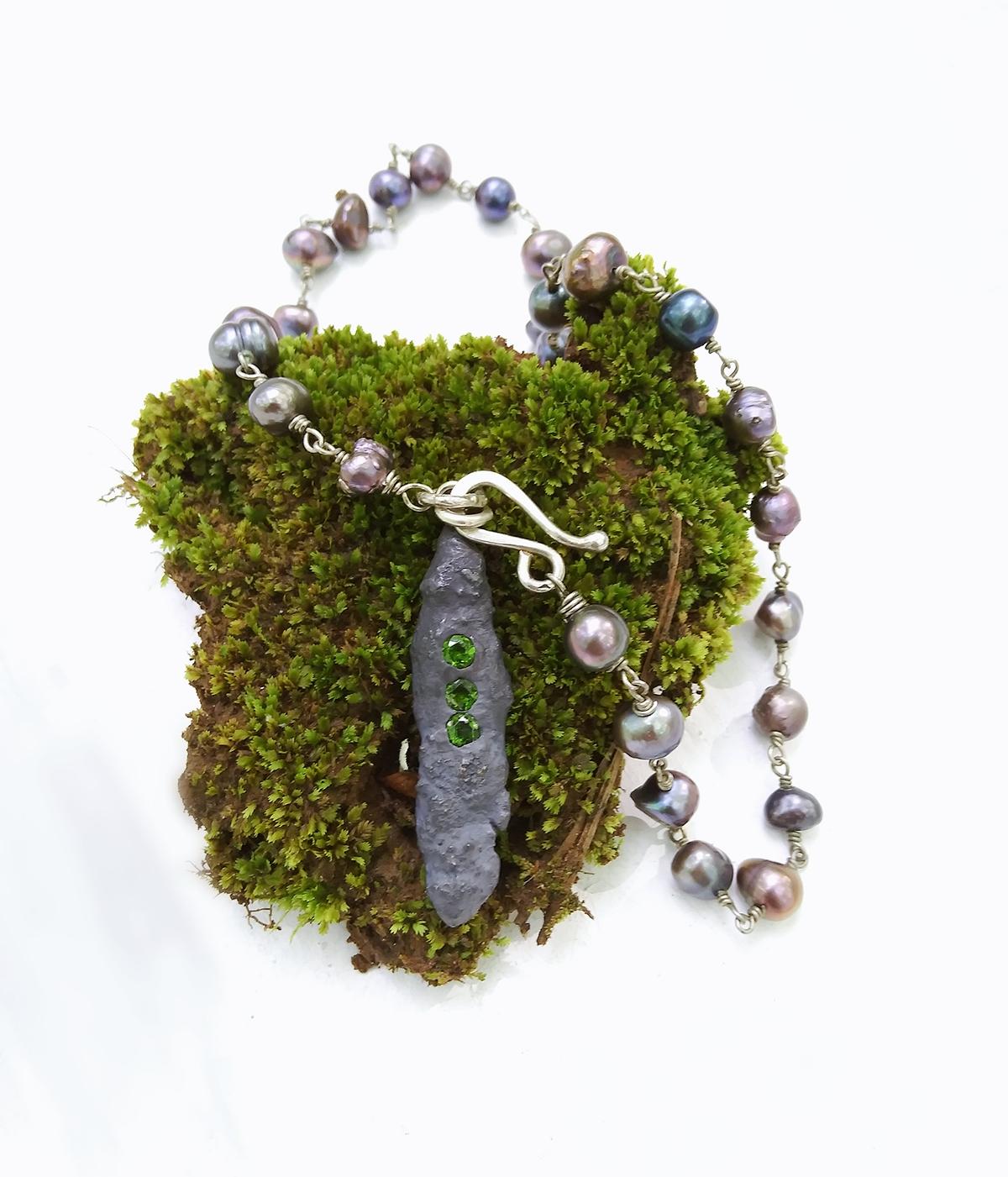 Green Tsavorite Garnet Necklace